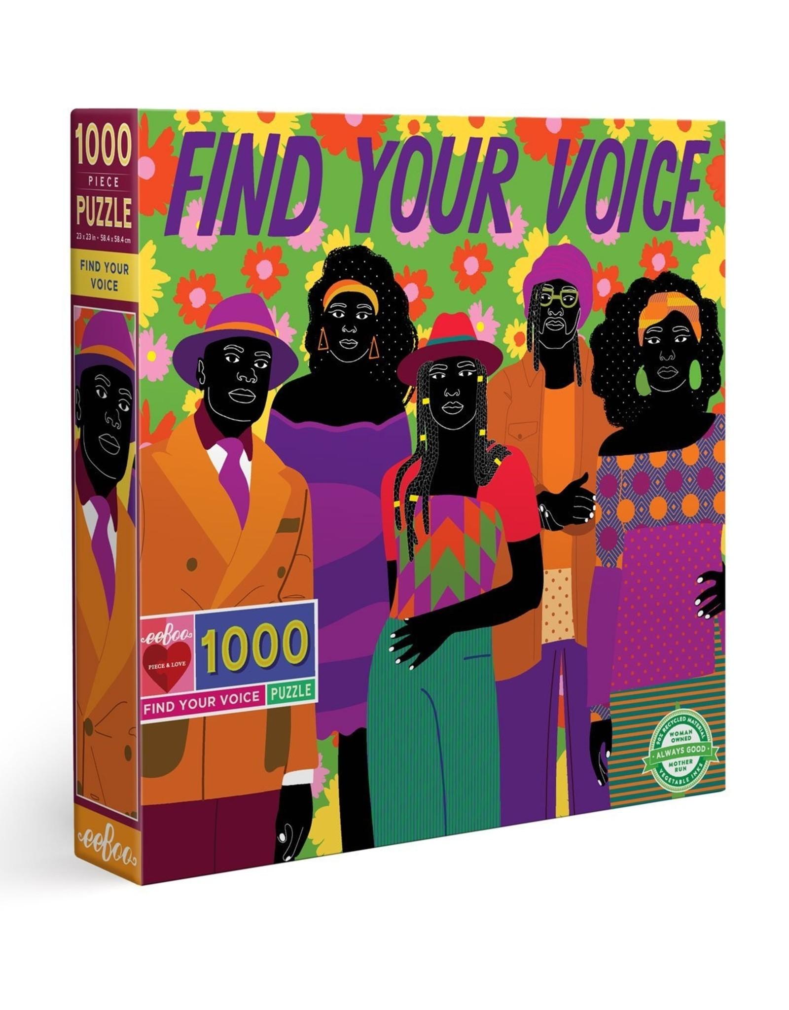 eeBoo Puzzle 1000 piece : Find your voice
