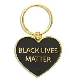 The Found Enamel Keychain - Black Lives Matter