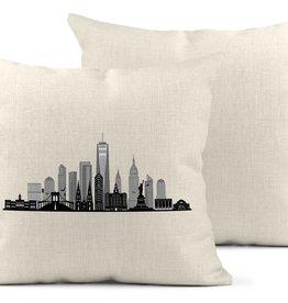 Daisy Mae Designs Pillow - NYC Skyline