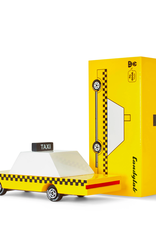 Wooden Toy: Yellow Taxi