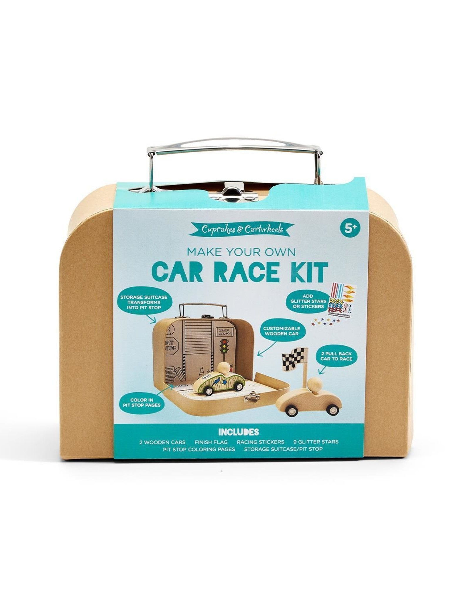 Two's Comapany Make Your Own Car Race Kit