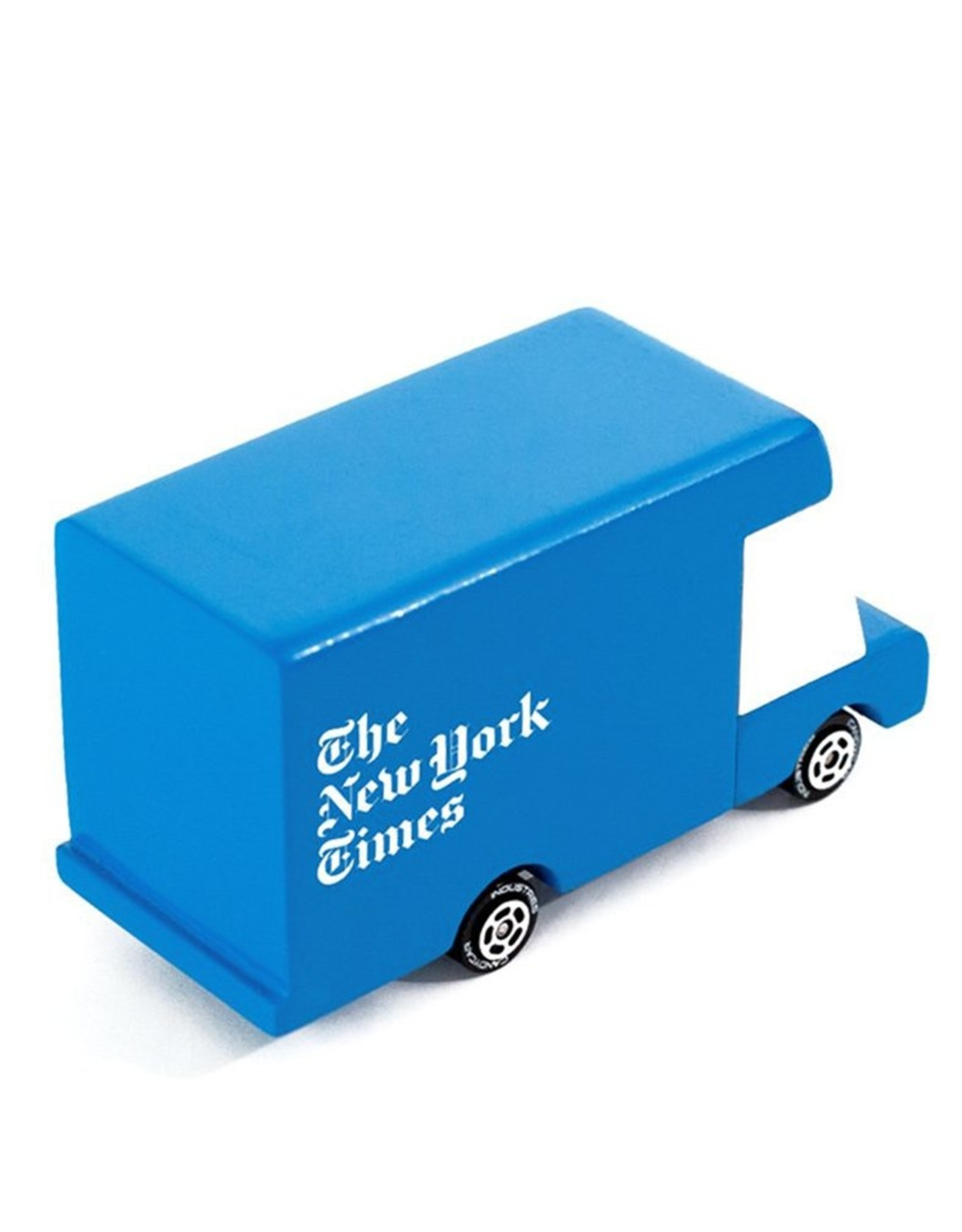 Wooden Toy: New York Times Truck