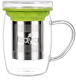 Tealyra perfecTEA Glass Cup Infuser