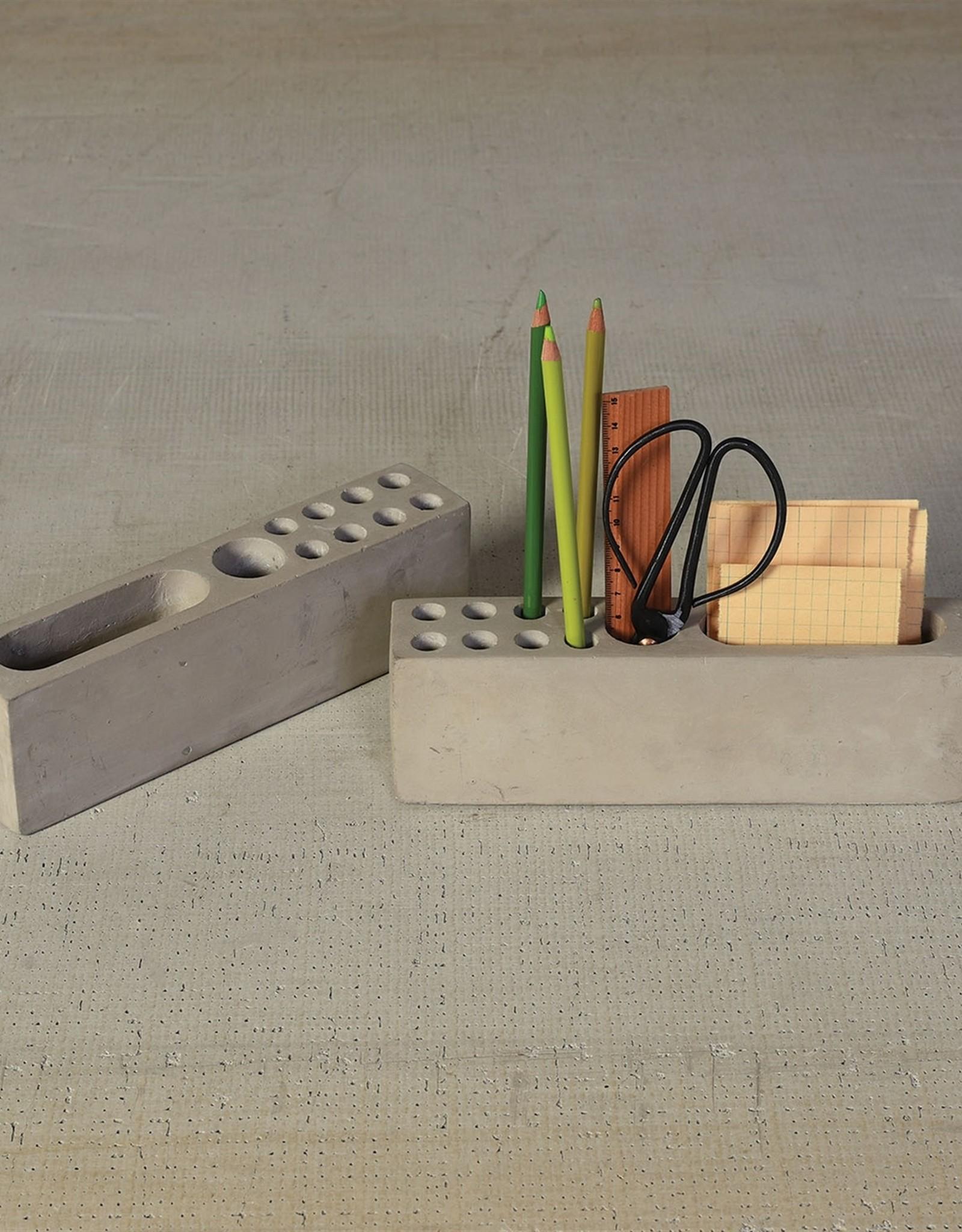 HomArt Desk Organizer - Cement