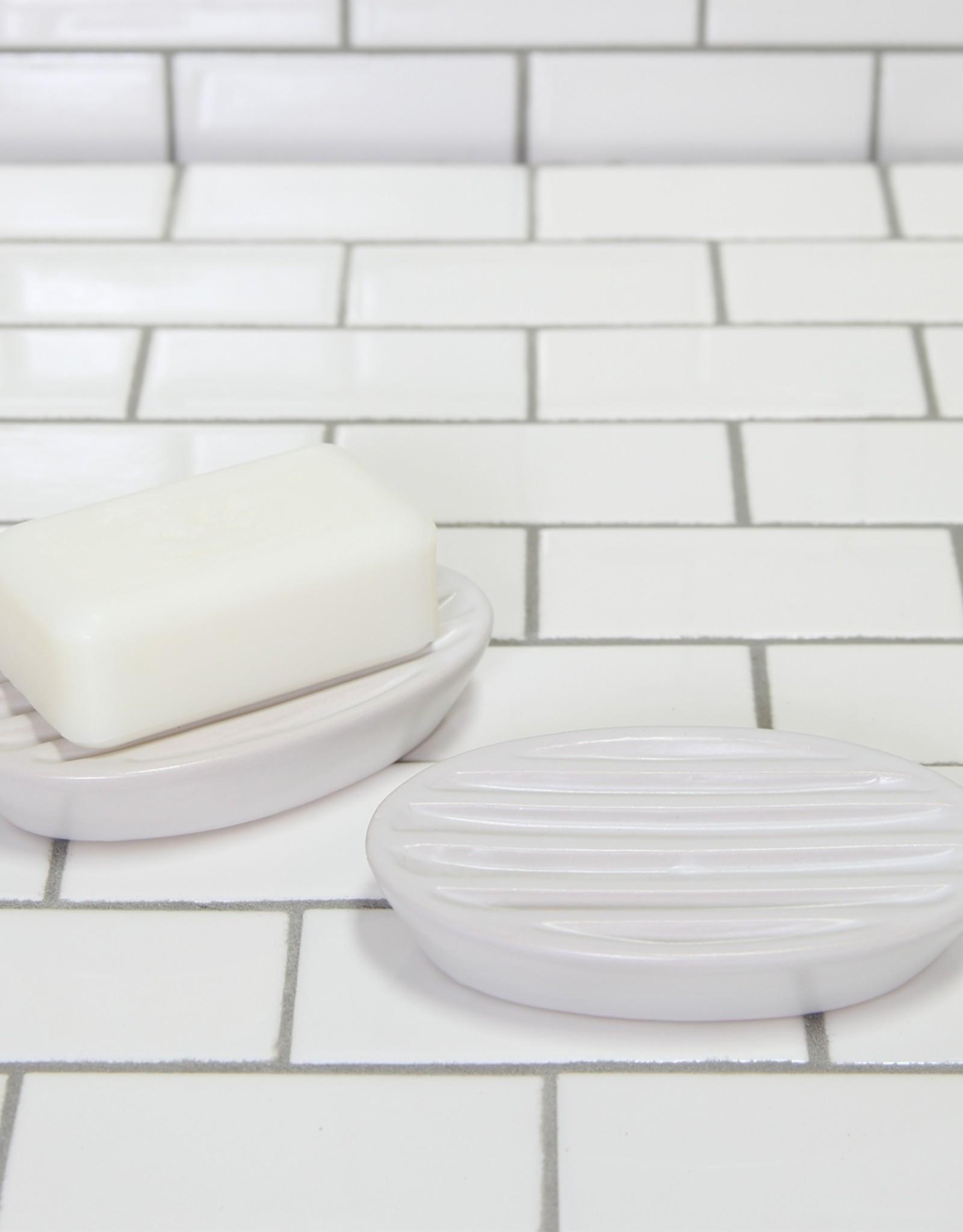 HomArt Soap Dish - Oval white