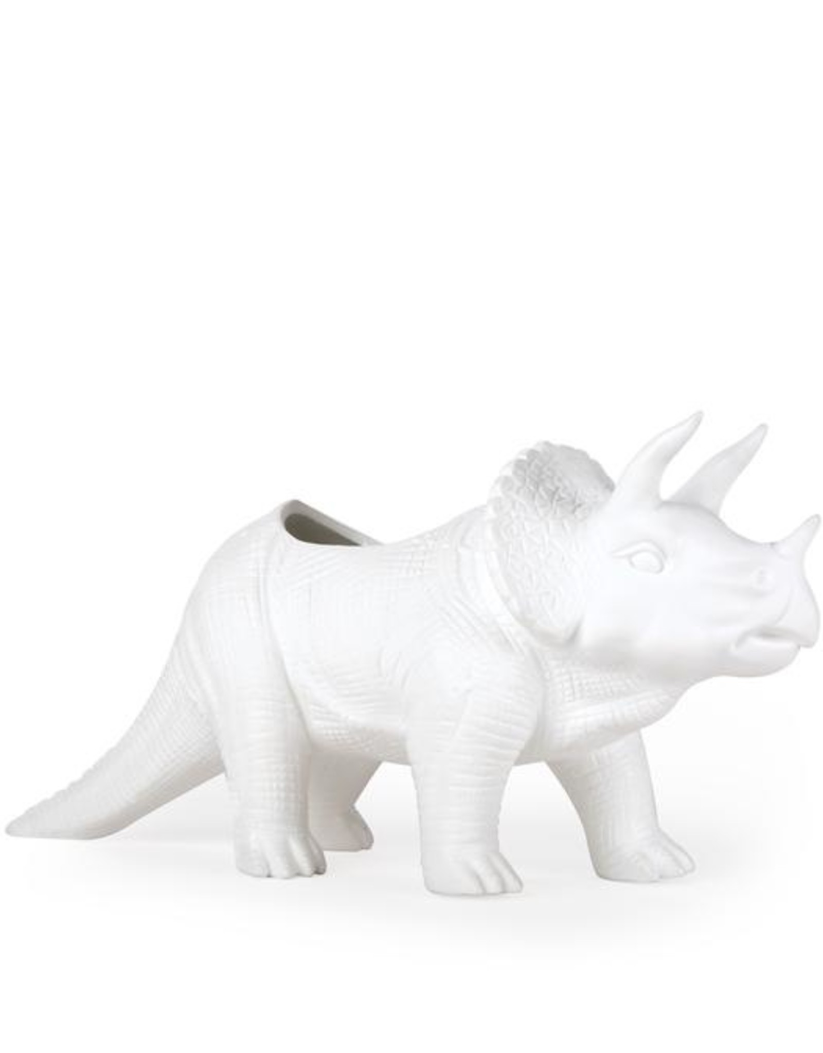 Kikkerland Porcelain Tricerapot