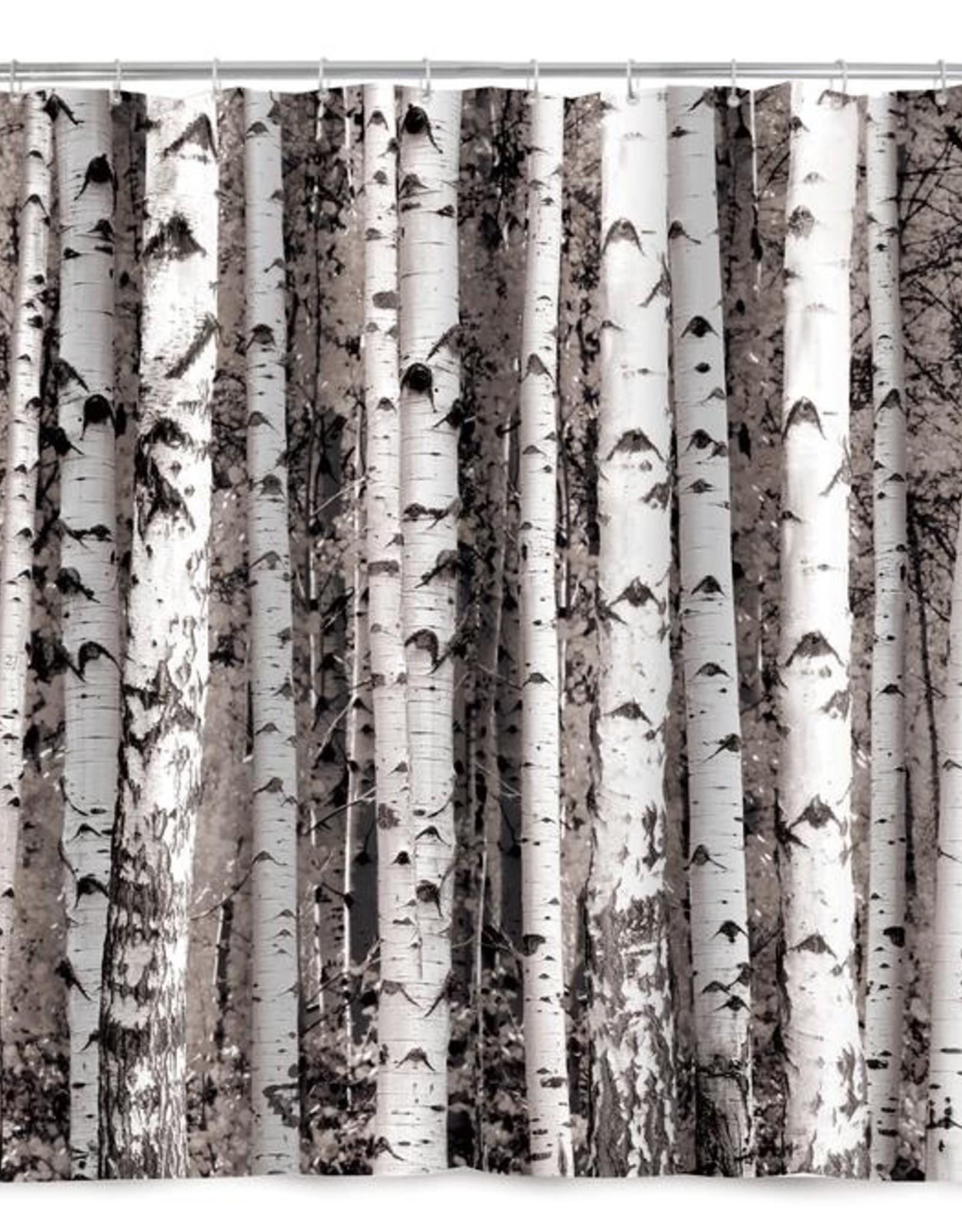 Kikkerland Shower Curtain - Birch