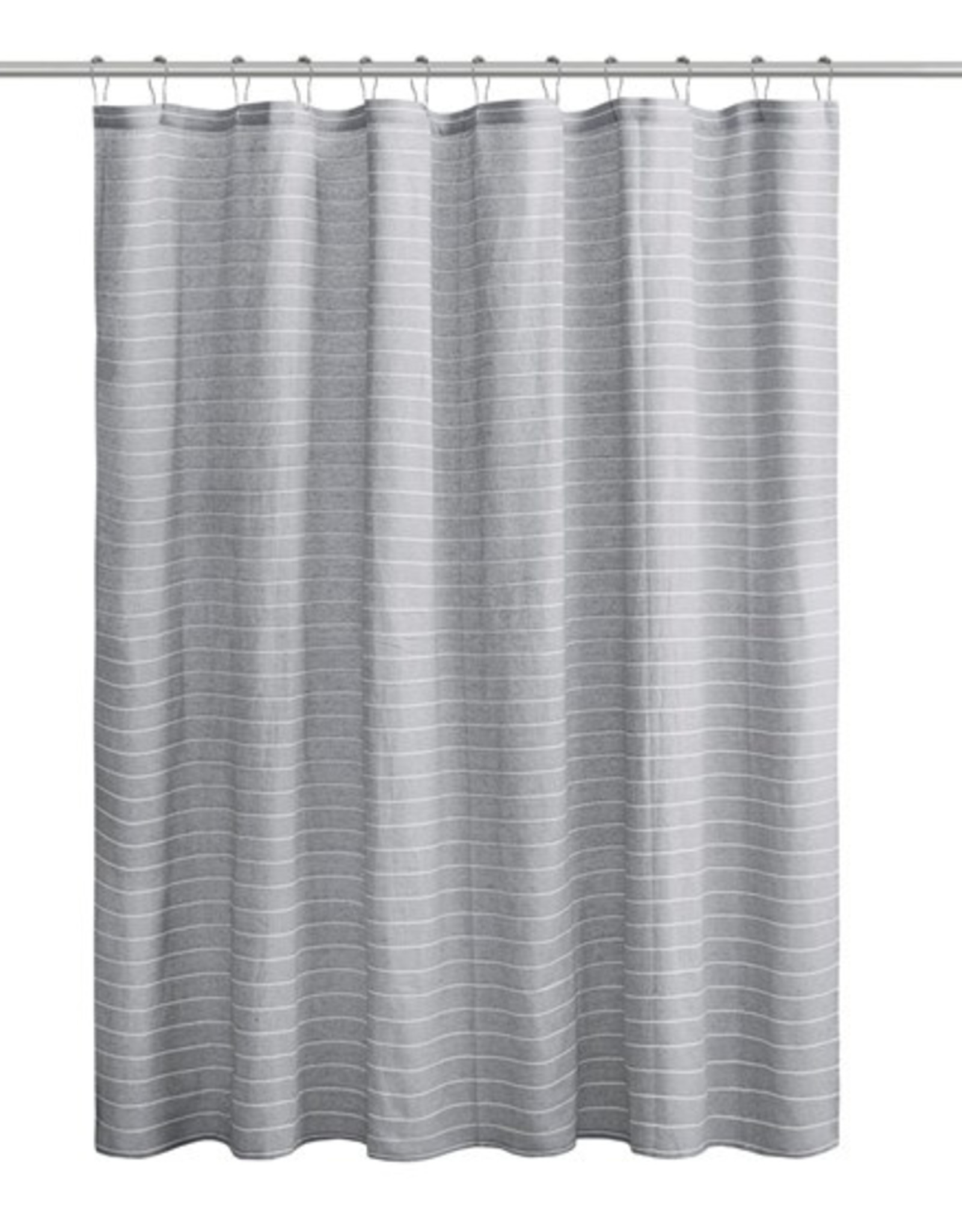 Ollixx Shower Curtain - Striped recycled fabrics