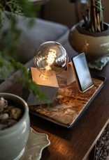 BIA Cement Slanted Cube Lamp