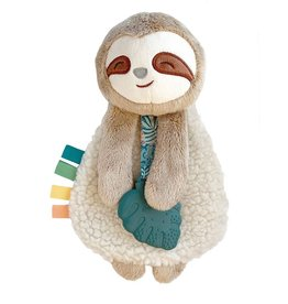 Itzy Ritzy Sloth Plush with Silicone Teether Toy