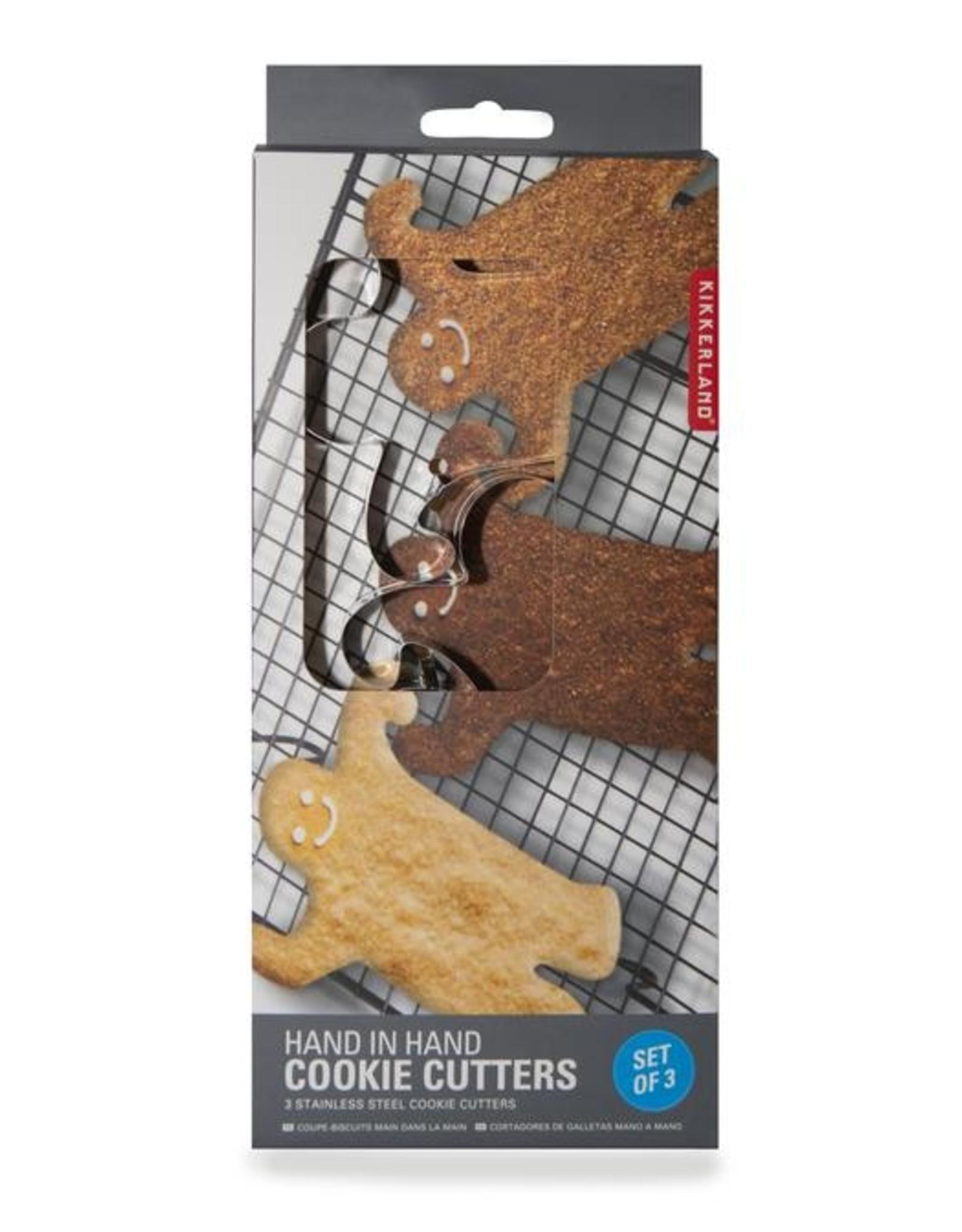 Kikkerland Hand in Hand Cookie Cutter