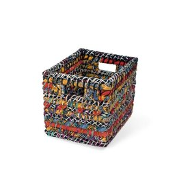 Ten Thousand Things Sari Storage Basket - medium assorted
