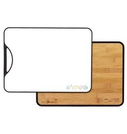 Totally Bamboo Polyboo Bamboo/Poly Cutting Board