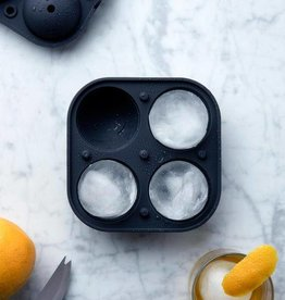 W&P Design Sphere Ice Mold - Blue