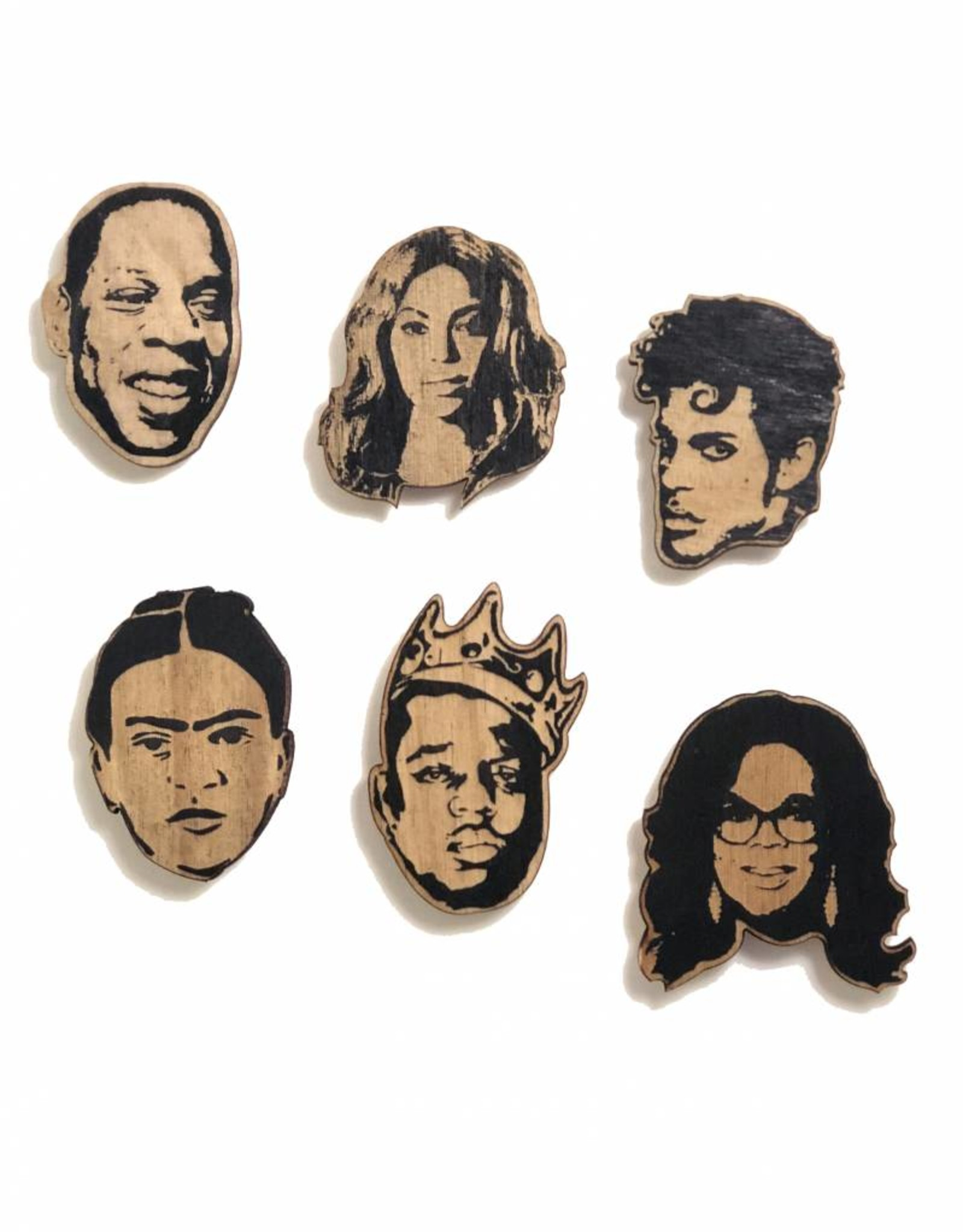 Famous Faces Magnets