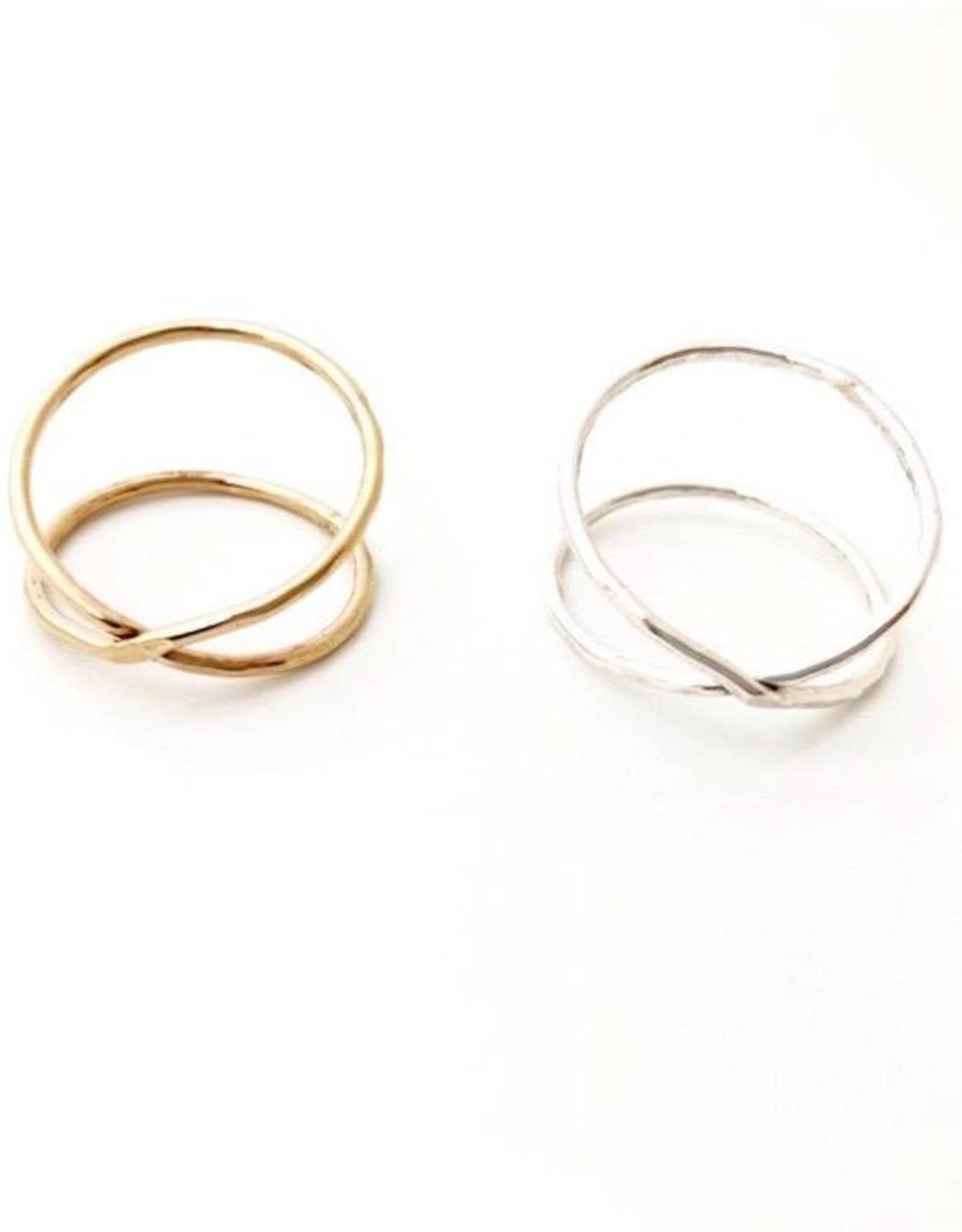SAK bijoux BARKLEY ring, GOLD