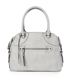 JEANE & JAX 3 Pocket Shoulder Bag ICE