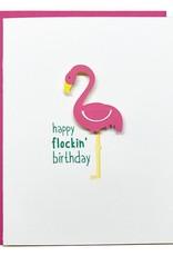 PEPPER POP paper Flockin' Birthday Card