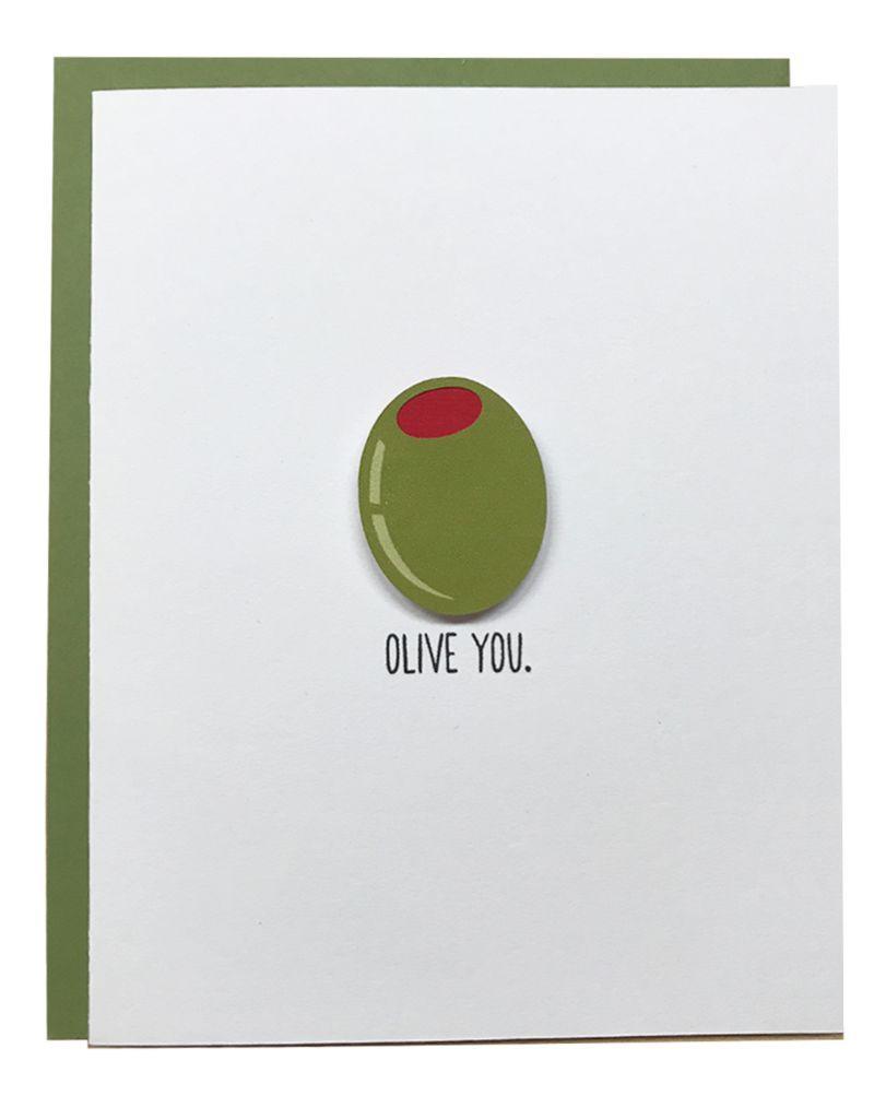 PEPPER POP paper PEPPER POP paper Olive You CARD