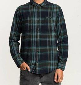 RVCA Ludlow LS Flannel GREEN