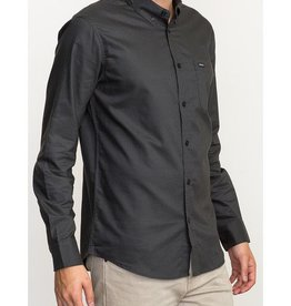 RVCA That'll Do Oxford LS BLACK