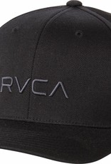 RVCA Flex Fit BLACK