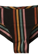 RVCA SIDE LINE STRIPED CHEEKY BOTTOMS