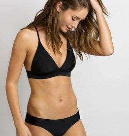 JUNE Swimwear Nora Bikini Top BLACK