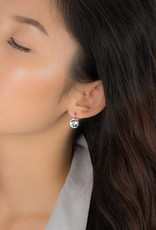 FAB Accessories Swarovski Drop Earring Gold