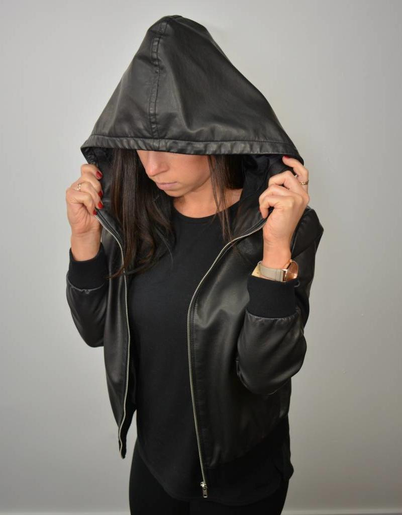 BB DAKOTA Hooded bomber jacket