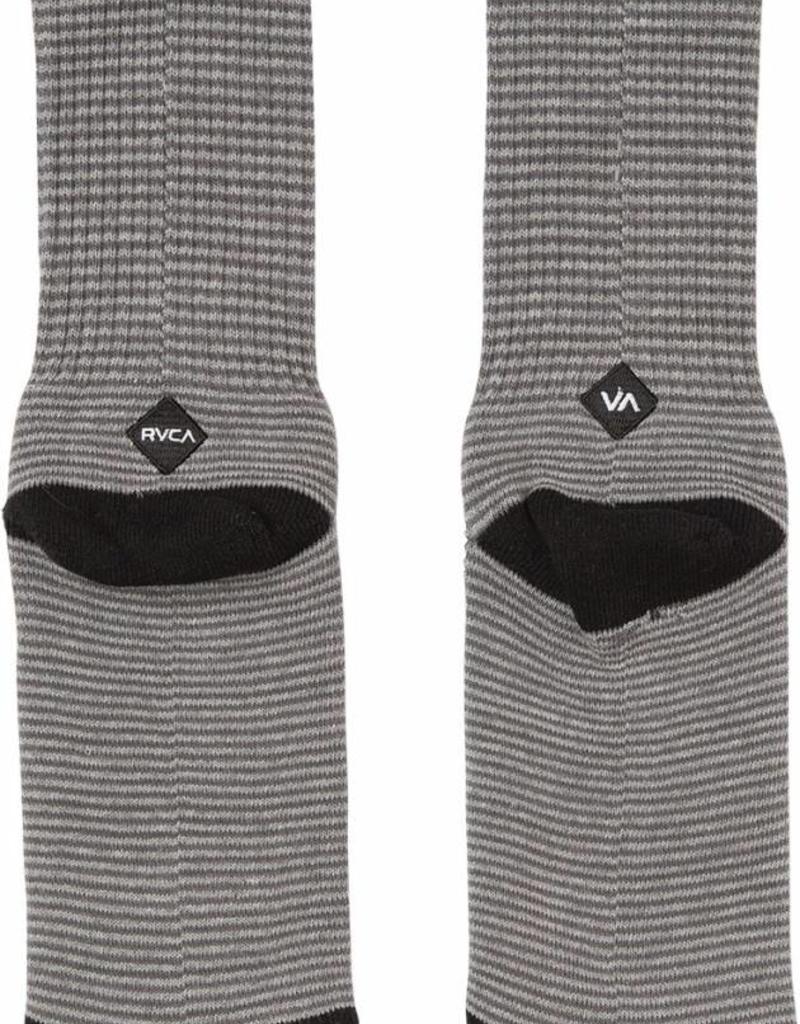 RVCA Select Crew Sock GREY STRIPE