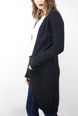 MINIMUM Wool Pocket Cardigan BLACK