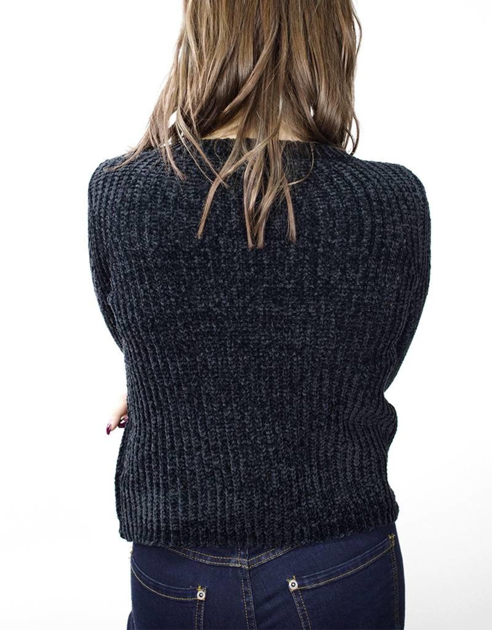 BB DAKOTA Smooth Sailing Sweater ONYX
