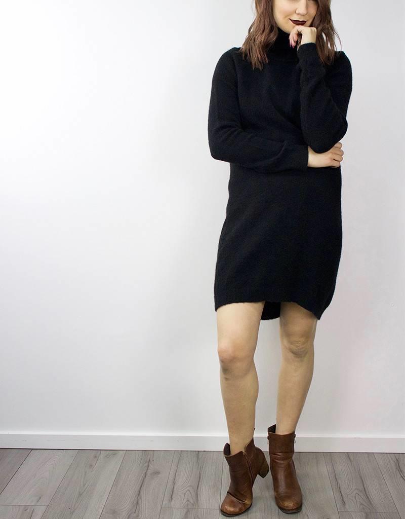 MINIMUM Wool Cowl Neck Sweater Dress