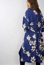 VERA MODA Floral Kimono BLUE