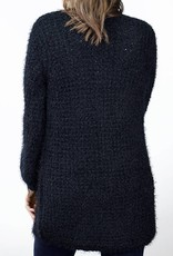 BB DAKOTA Fuzzy Cardigan with Pockets