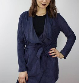 Suede Jacket NAVY