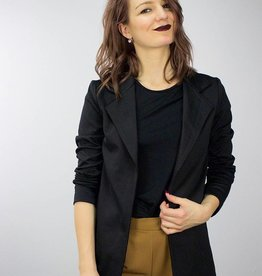 LeBLANC finds Basic Blazer BLACK