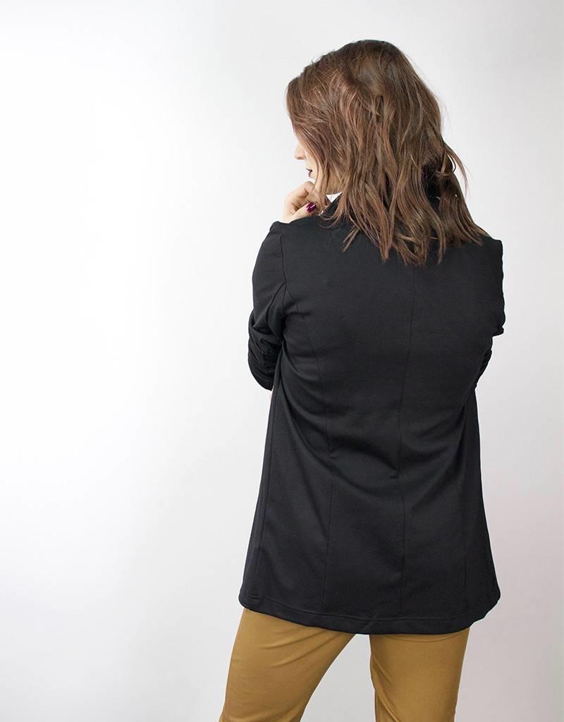LeBLANC finds Basic Blazer BLACK