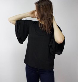 MINIMUM Bell Sleeve Blouse