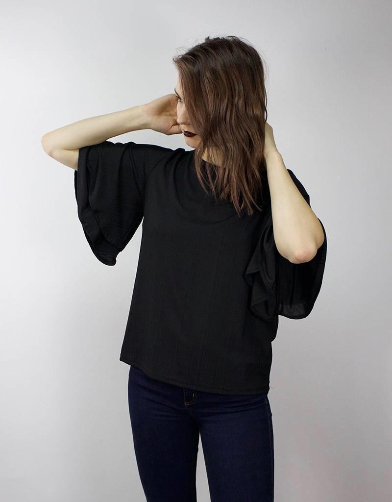 MINIMUM Bell Sleeve Blouse