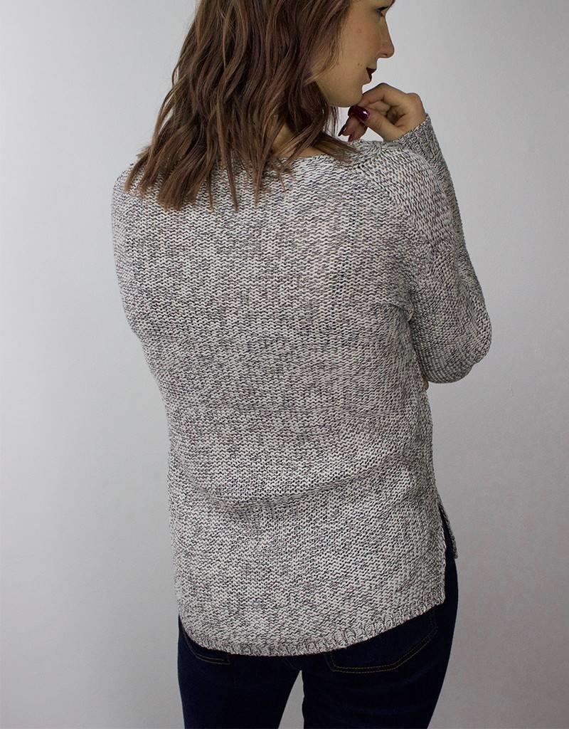 RD STYLE Braided Knit Sweater