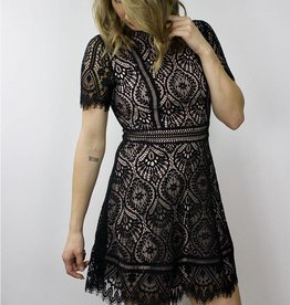 BB DAKOTA On The List Lace Dress