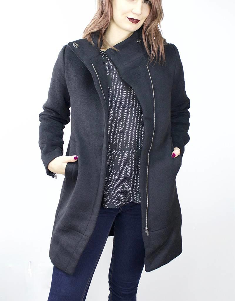 MINIMUM Hendrika Coat BLACK