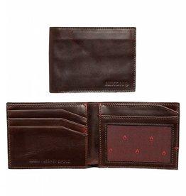 NIXON Legacy BiFold Wallet BURGUNDY