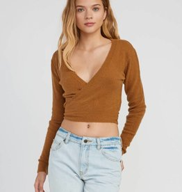 RVCA Fuz Wrap Sweater