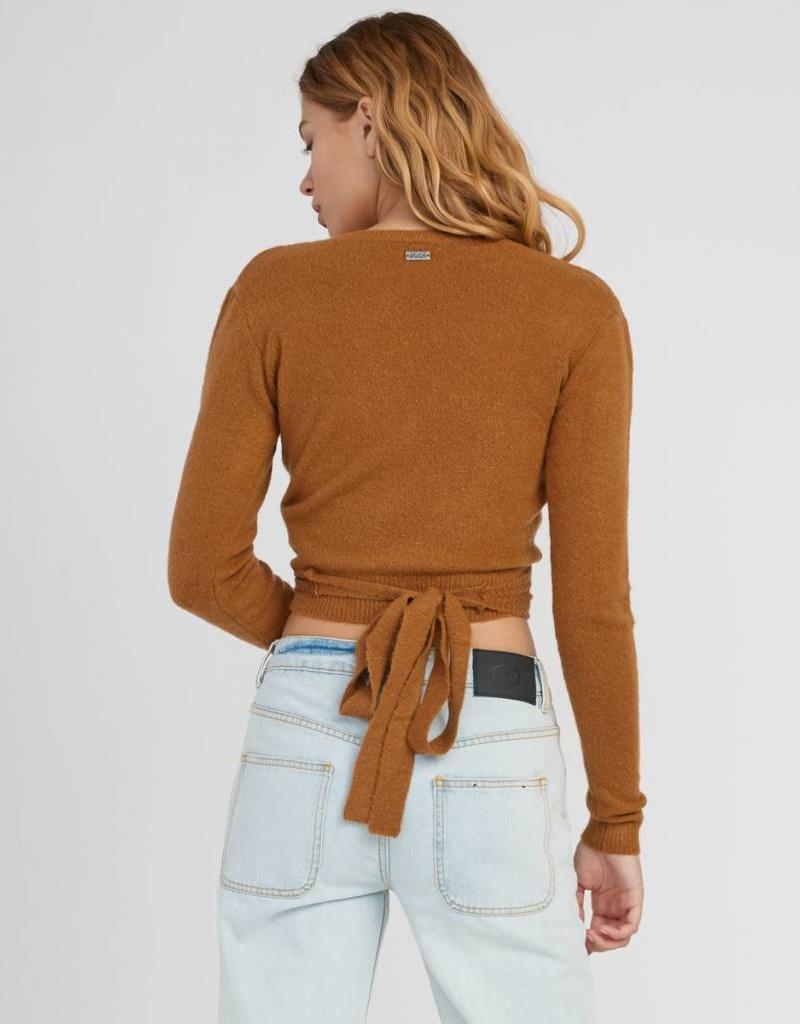 RVCA Fuz Wrap Sweater