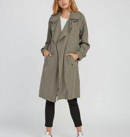 RVCA Mac Draped Trench Coat