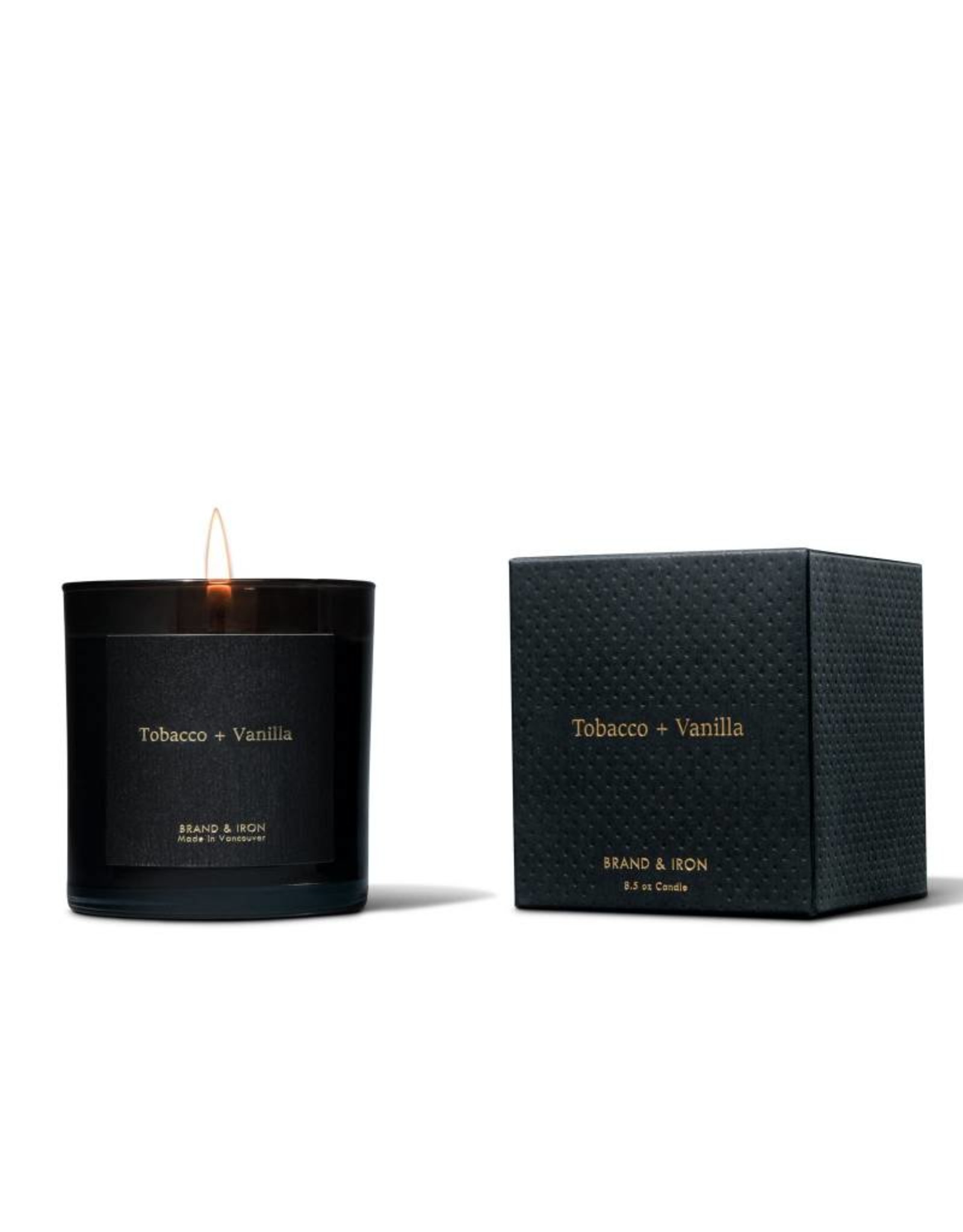 Brand & Iron Dark Spaces Tobacco and Vanilla Candle