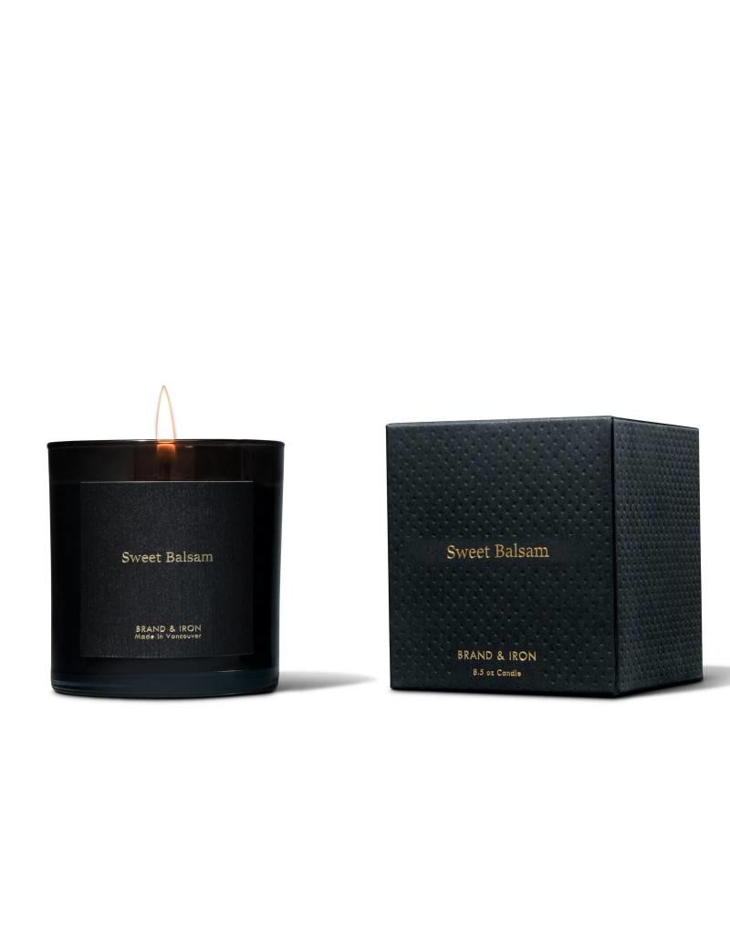 Brand & Iron Dark Spaces Sweet Balsam Candle